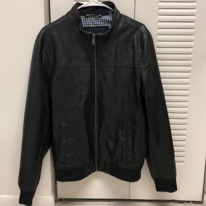 Men's Tommy Hilfiger leather jacket ..